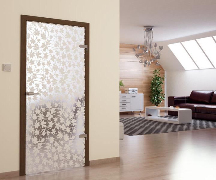 Prosklené interiérové dveře můžete koupit v mnoha provedeních
