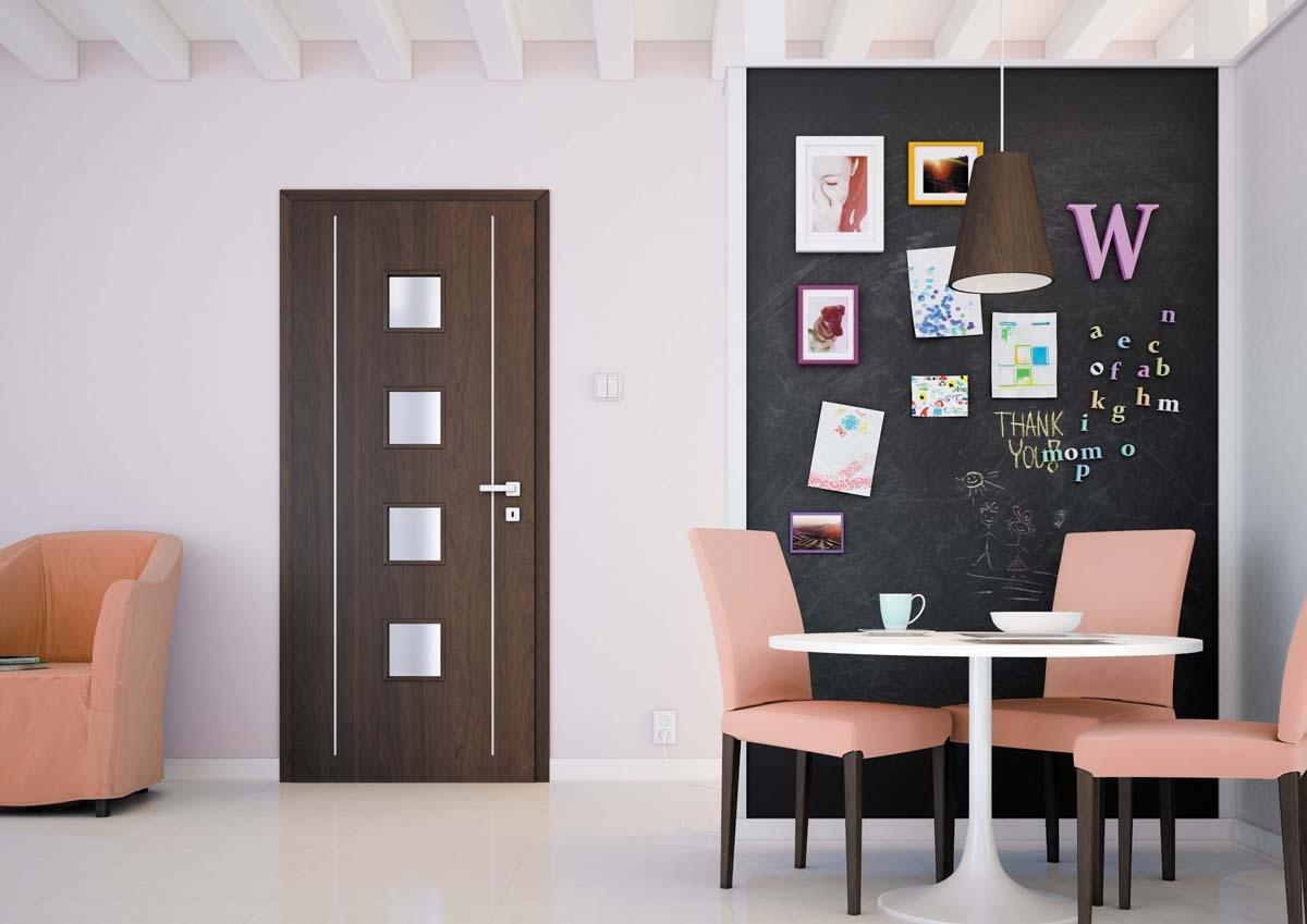 Interiérové dveře - prosklít nebo neprosklít