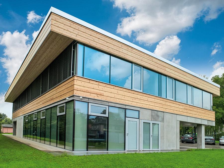 Údržba hlinikových oken a dveří, realizace firma Ponzio