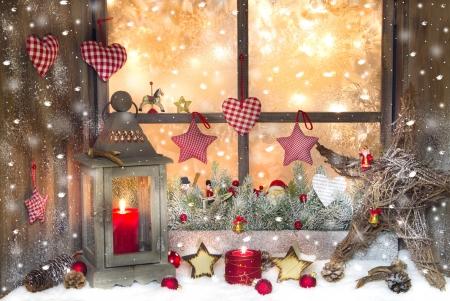 Tipy na vánoční výzdobu oken a dveří