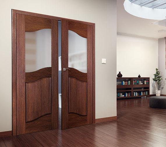 Dvoukřídlé interiérové dveře a jejich výhody