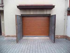 Garážová vrata reference Brno