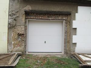 Garážová vrata reference Vyškov