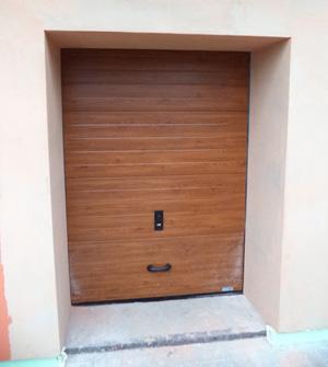 Garážová vrata reference Šumperk