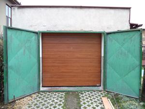 Garážová vrata reference Svitavy