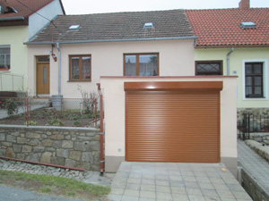 Garážová vrata reference Třebíč