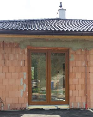 Plastová okna a dveře reference Jindřichův Hradec