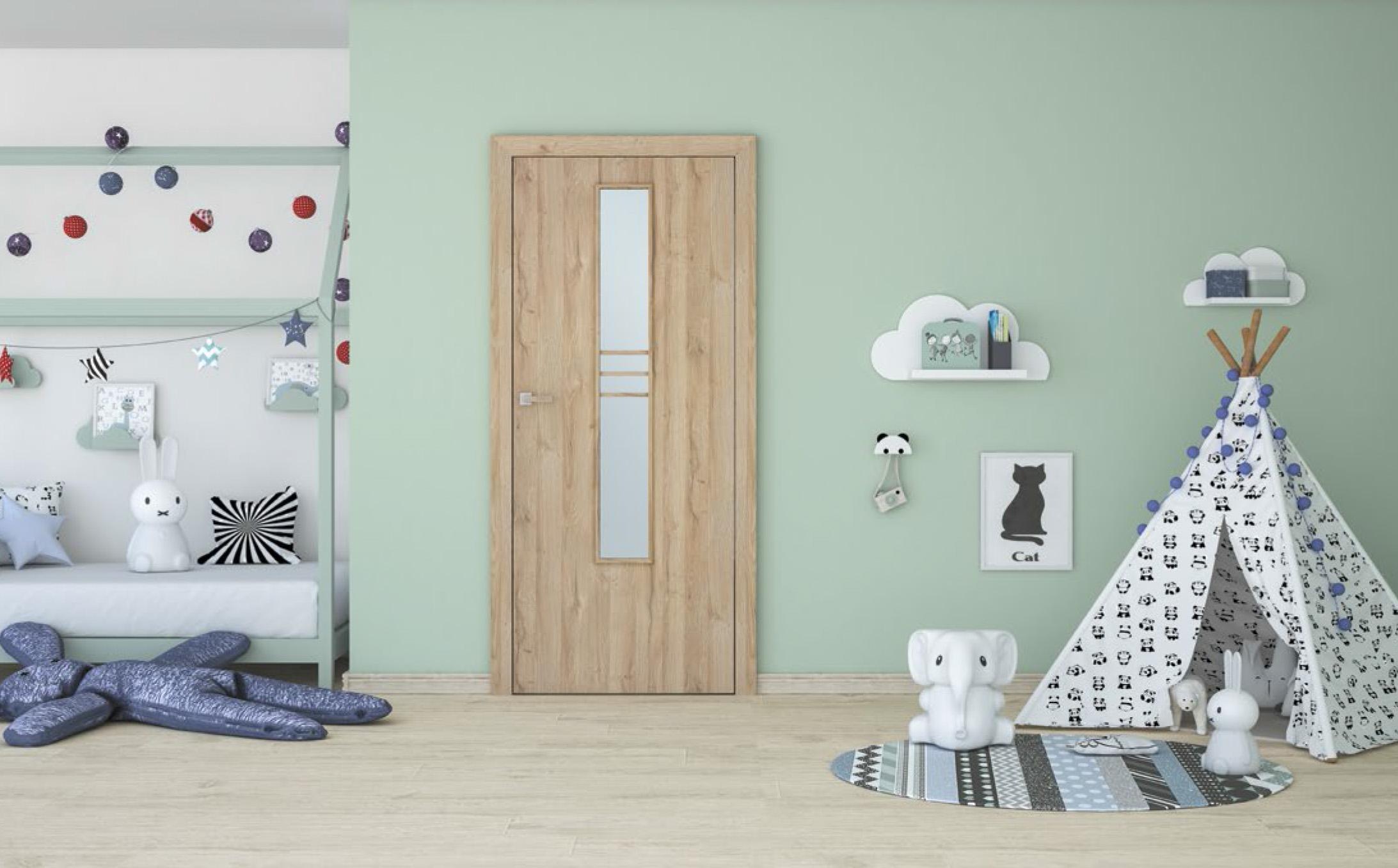 Interiérové dveře - dětský pokoj