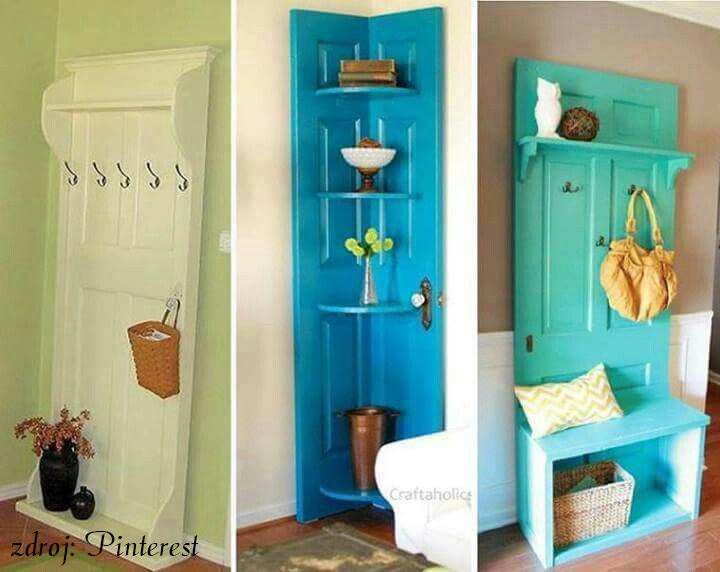 Jak naložit se starými dveřmi