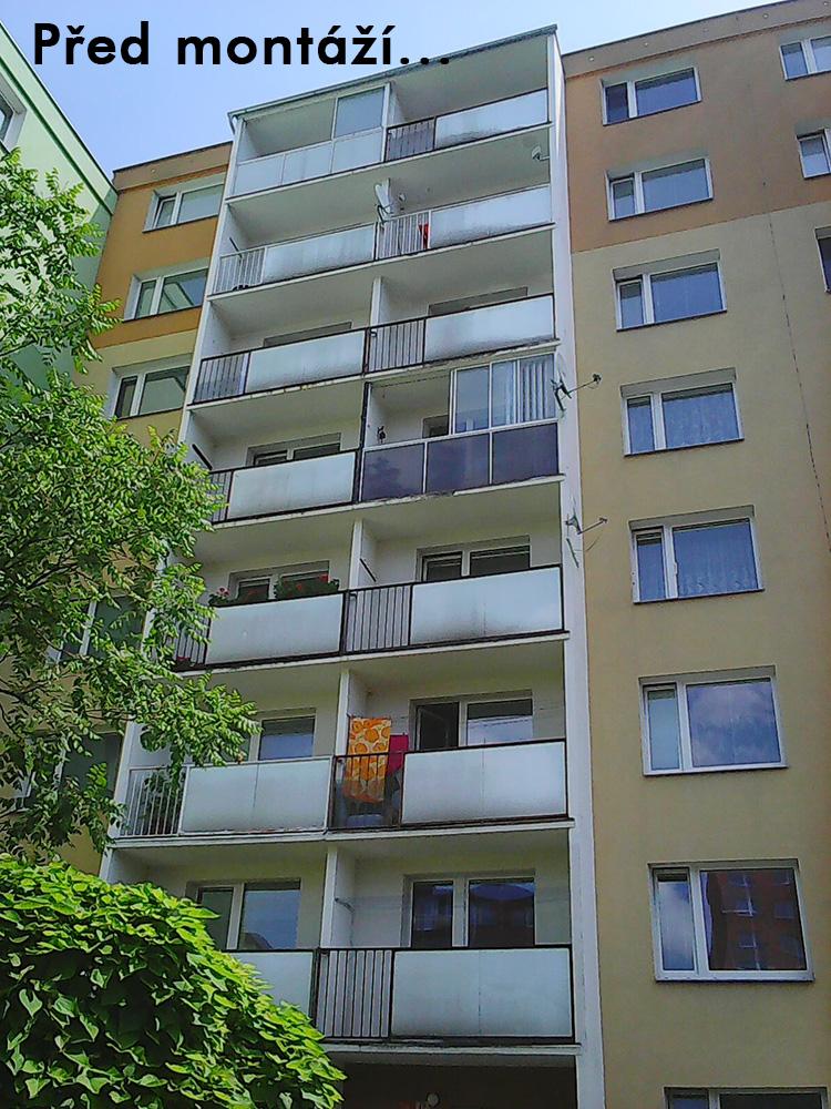 Reference Olomouc - zábradlí
